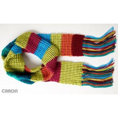Mood Scarf - Rib Crochet
