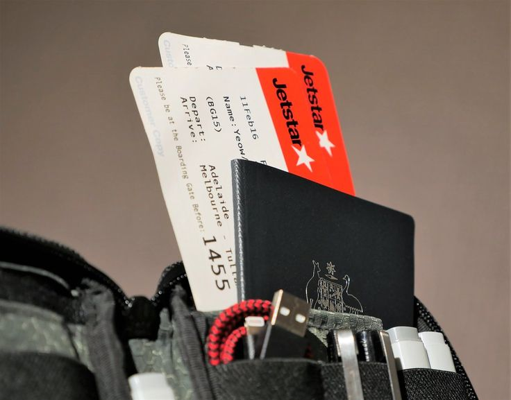 Etchr Field Case used as a travel wallet