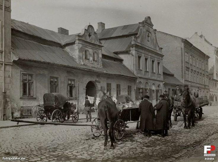 ul. Krakowska, Kraków - 1908 rok, stare zdjęcia