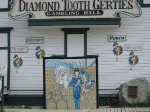 le casino de French Cancan à Dawson-city