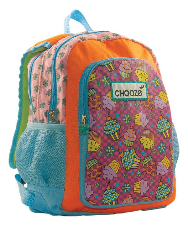 Look at this Sky Blue Choozepack in Lovecakes Backpack on #zulily today!