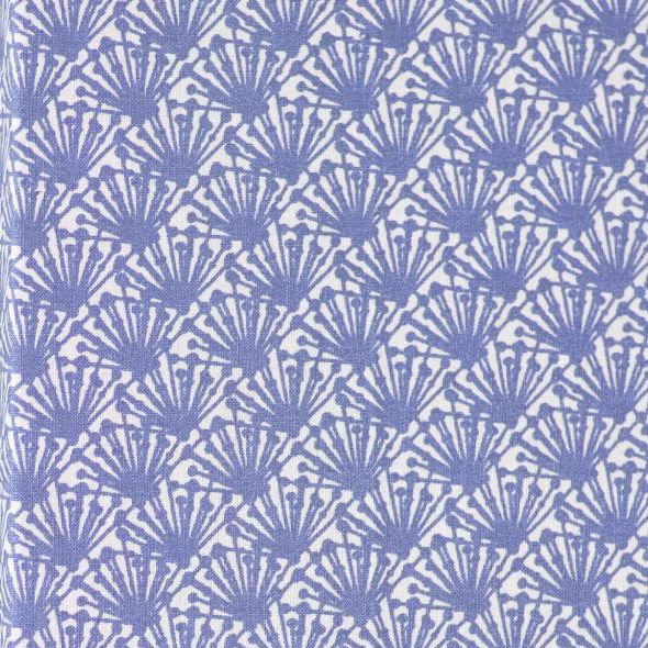Fili Extra Wide Organic Oilcloth In Blue 100 Organically Grown Cotton  Printed And Coated With Acrylic