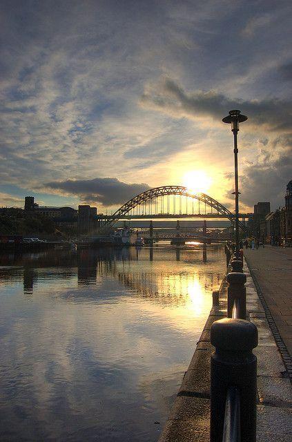 The Tyne Bridge, Newcastle upon Tyne.