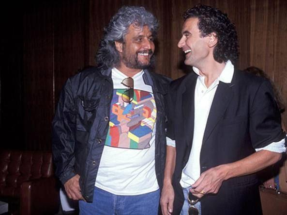 Pino Daniele e Massimo Troisi