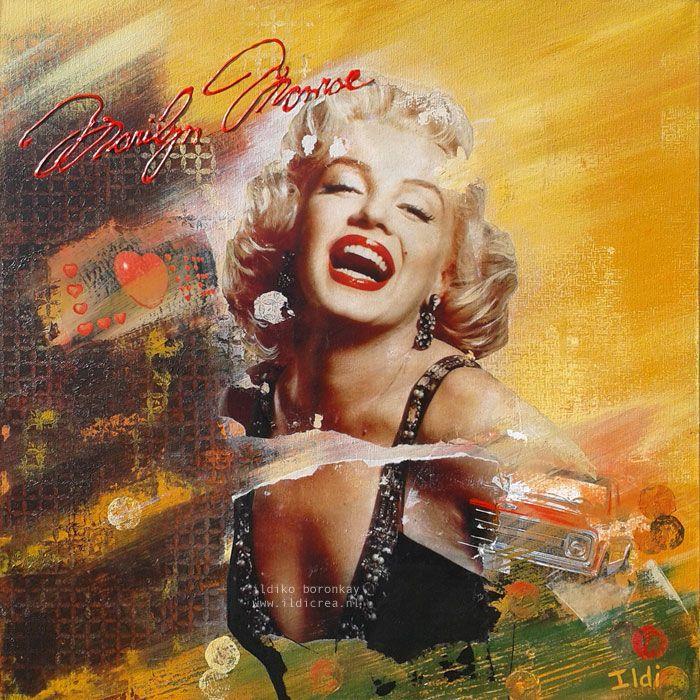 Marilyn Monroe made by ildiCrea