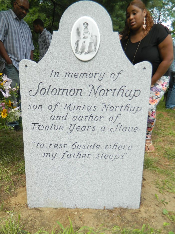 New headstone unveiled to help tell story of Solomon Northup