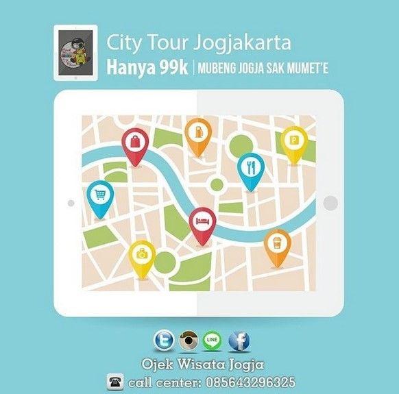 Ojek Wisata Jogja Fasilitasi Para Solo Traveller di Jogja