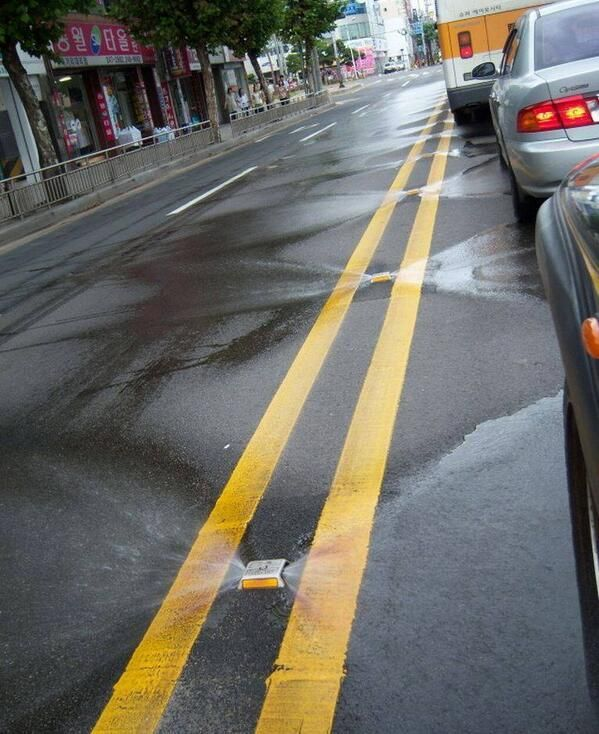 Have you seen this? Self cleaning streets in Korea