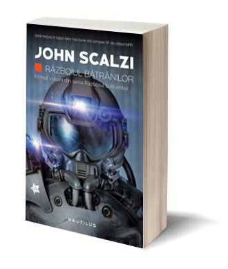 """În colecţia """"Nautilus"""" a editurii Nemira se mai adaugă un titlu mişto: Războiul bătrânilor, romanul SF cu care John Scalzi a debutat în 2005."""