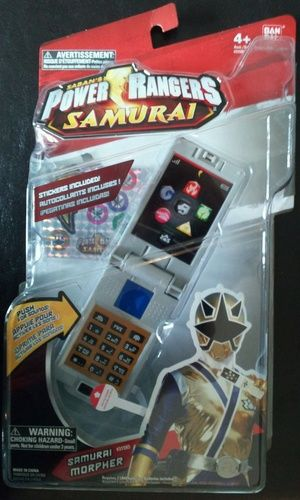 Amazon.com: Power Ranger Samurai Samurai Morpher: Toys & Games