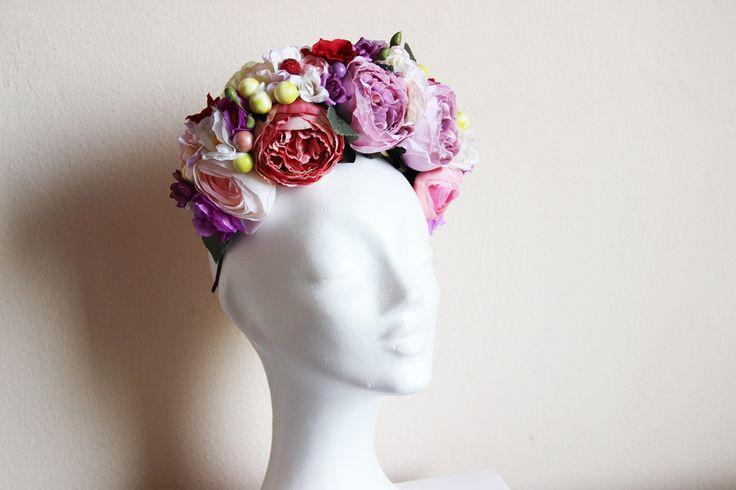 Flowery čelenka  01