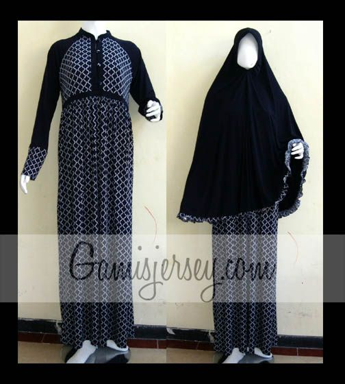 GJHKLE Hijab set Dark Blue