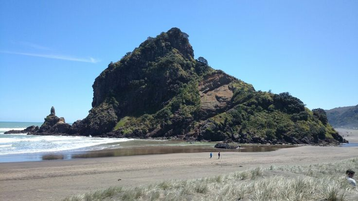 Piha beach, west coast, Auckland.