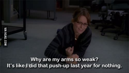 It's like the words that come out of Liz Lemon's mouth are straight from my head.