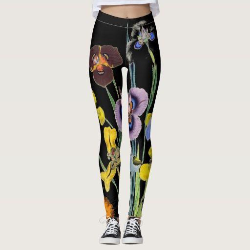 Vintage Nevena Floral Leggings