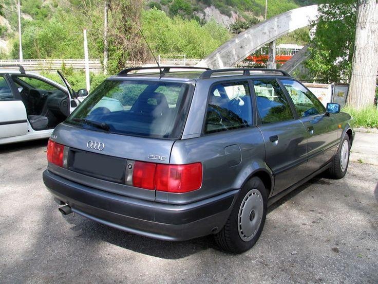 Audi B4 Avant 1993 back (no copyright) - Audi 80 - Wikipedia