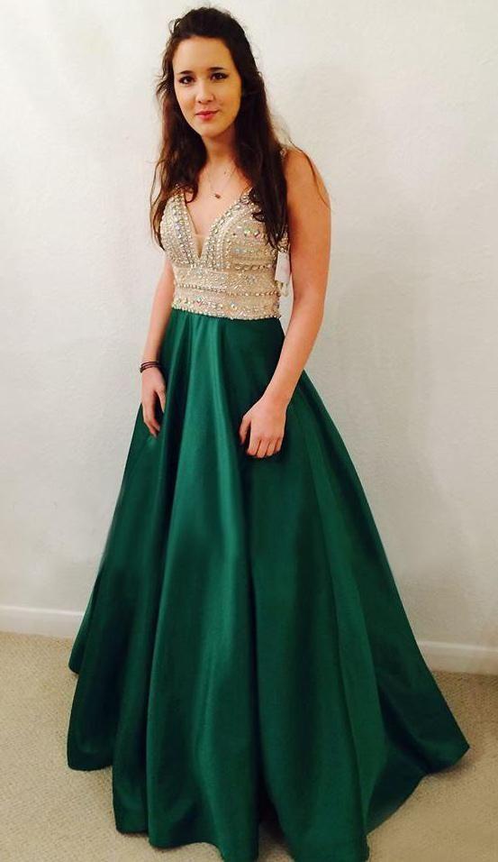 Green Prom Dress dbaa292ec49c