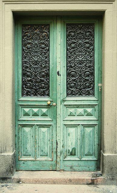 My front door one day :)