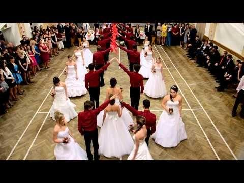 Školní ples ZŠ Moravský Písek 2015 - polonéza