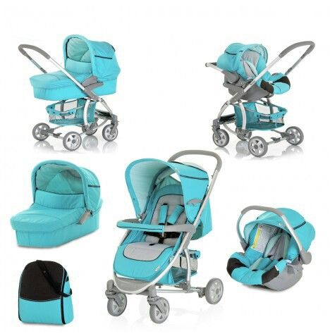Hauck Malibu all in one pram (non US model, US model does not have the infant car seat) LOVE THIS! Available online at Target in the USA