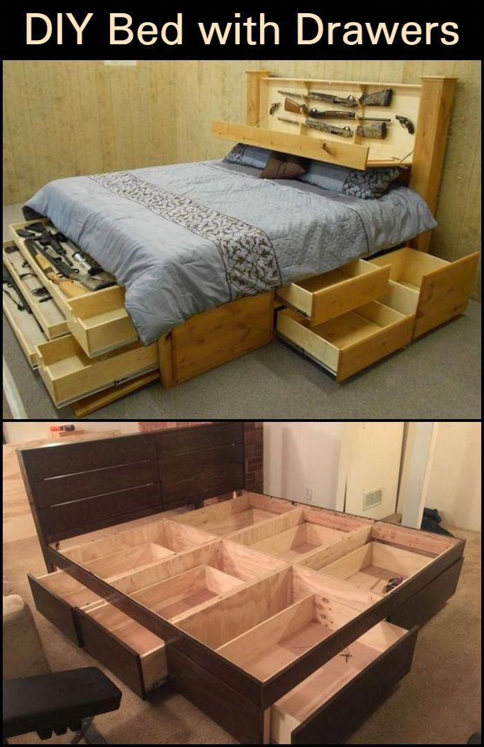 A Bed With Drawers Will Give You Additional Storage Space In Your