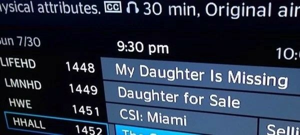 I think I know where your daughter might be