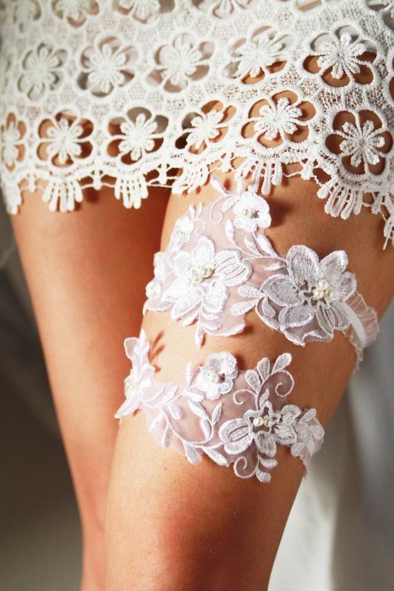 Wedding Garter Bridal Garter Lace Garter Set Rustic Wedding Boho Wedding Keepsake Garter Toss Garter Lace Garter Set Wedding Garter Lace Bridal Garter Lace