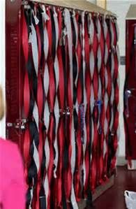 High School Football Locker Decorations Rally us football booster