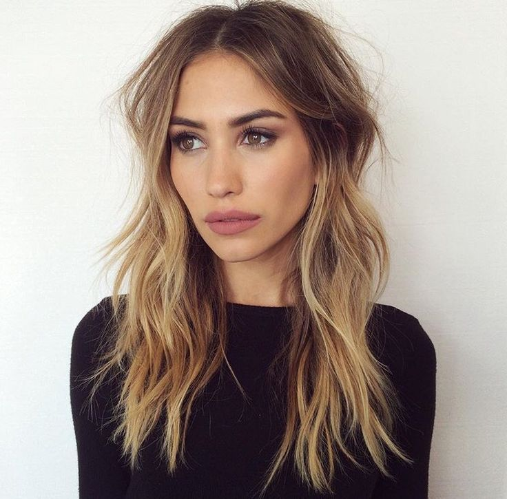 Middle Part, Beachy Waves