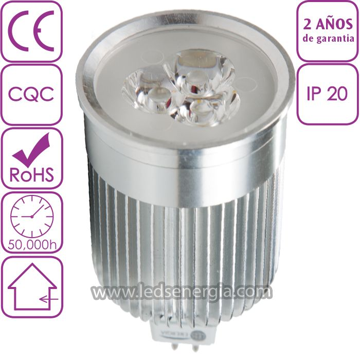 Bombilla LED Dicroica 9W MR16