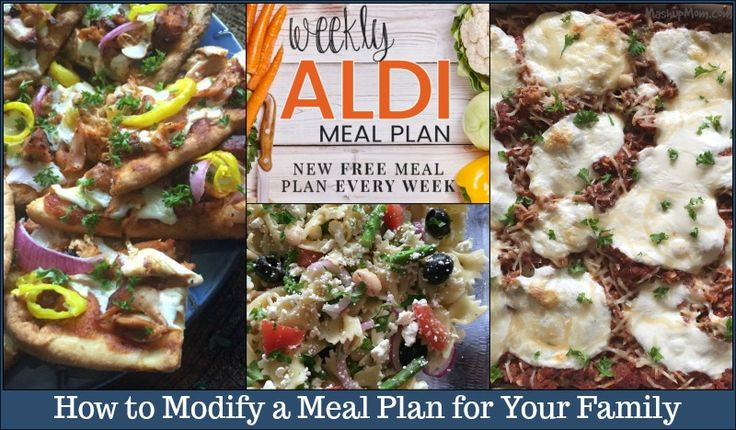 """Meal plans can be life savers for busy families, easing the burden of always worrying about """"what's for dinner?"""" and saving you money on last minute convenience foods and restaurants. What do you do, however, if one or more of the meals in a given plan (whether in the freeALDI meal plans here, or inView Post"""