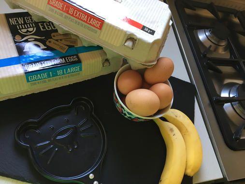 2 Ingredient Gluten Free Pancakes