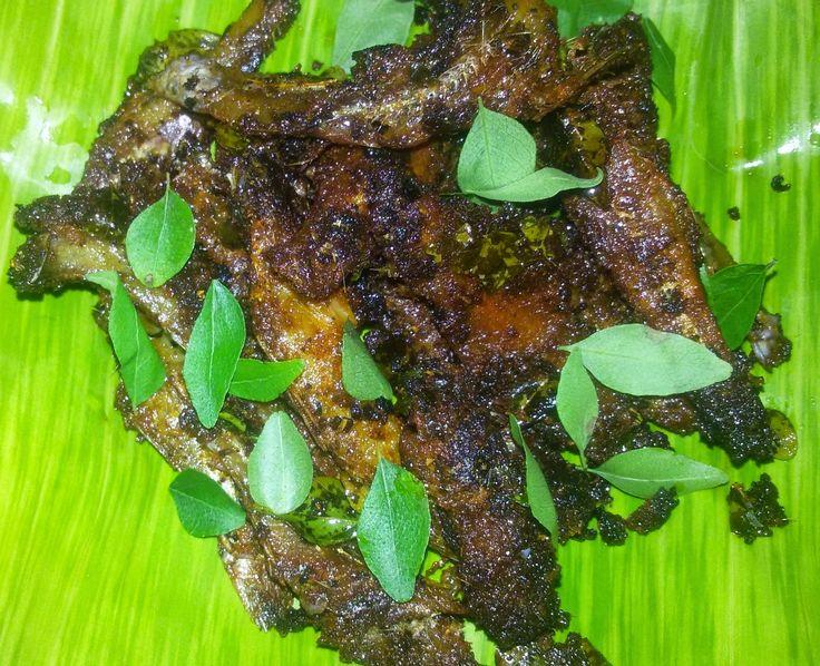 Bananaleaf Recipes: Dry Fish/ Nethili / Karuvadu Fry Recipe: