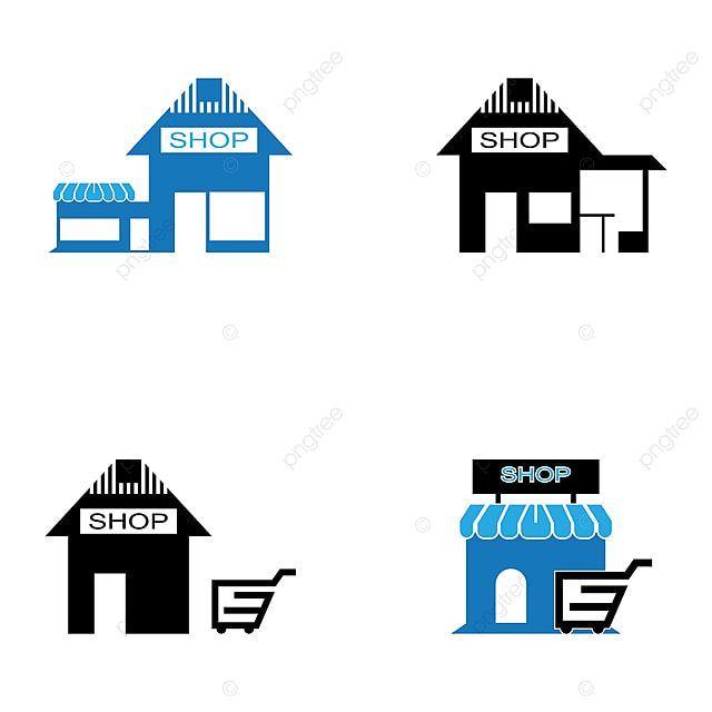 Shop Building Icon And Symbol Vector Illustration Building Icons Shop Icons Symbol Icons Png And Vector With Transparent Background For Free Download In 2021 Building Icon Building Illustration Shop Icon