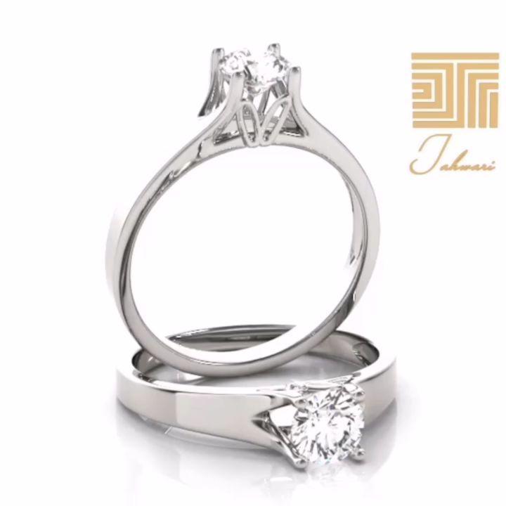 خاتم الماس سوليتير 0 5 قيراط تألقي بإطلالات راقية و مميزة ولذكرى خالدة هذا الخاتم تم تصميمه ليتوافق مع جميع الأذواق و المنا Engagement Rings Rings Jewelry