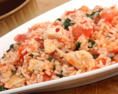 Risotto aux blancs de poulet et herbes de Provences (facile, rapide) - Une recette CuisineAZ
