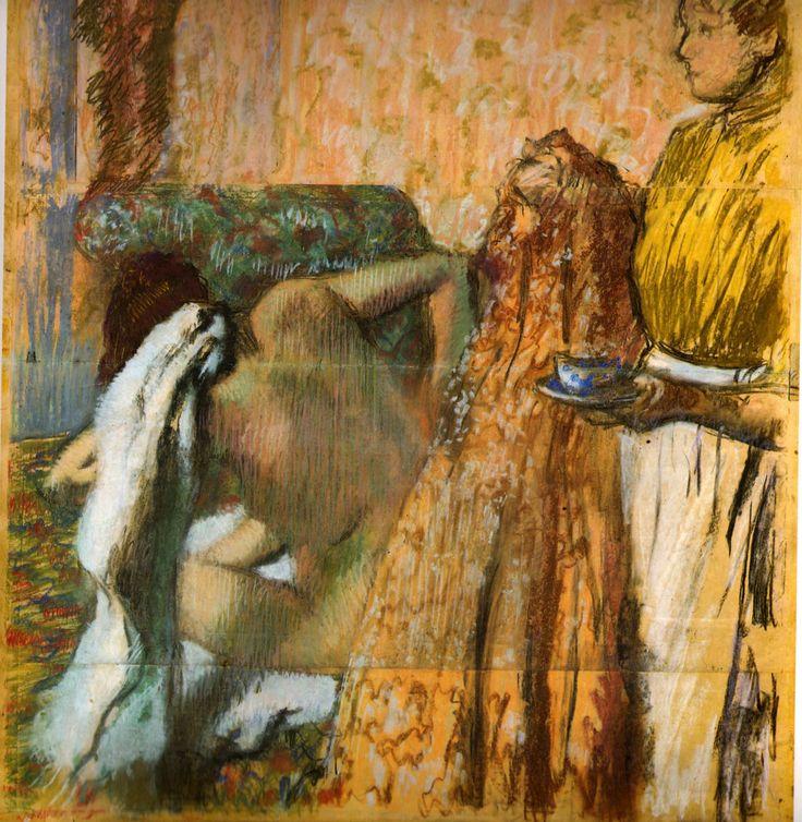 edgar degas pastels | degas figure study study 8 � The Human Form ...
