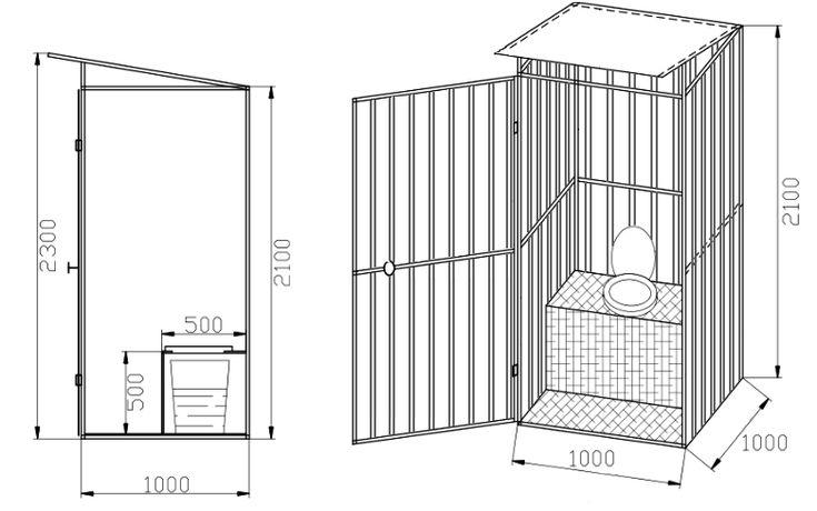 Туалет своими руками - подробная инструкция по постройке