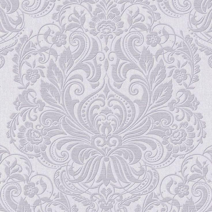 Free Graham U Brown Palais Lilac Vinyl Textured Damask Wallpaper With  Damask Wallpaper Lowes
