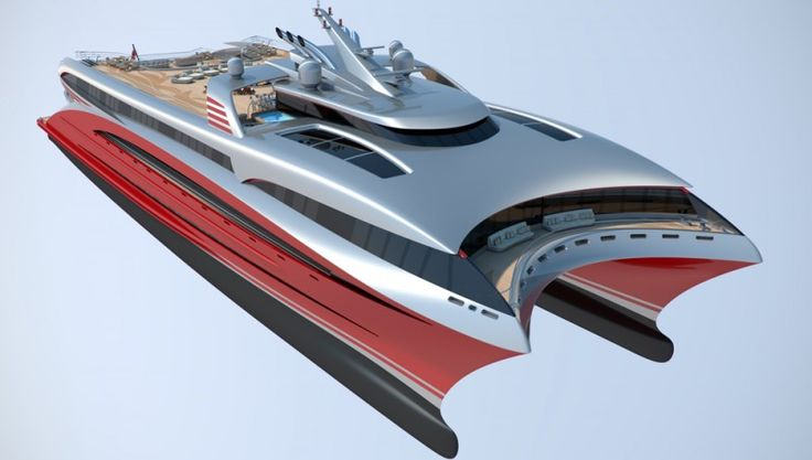 The ModCat Project L3 Concept Catamaran Yacht Maximizes Speed and Space   Boating & Yachting