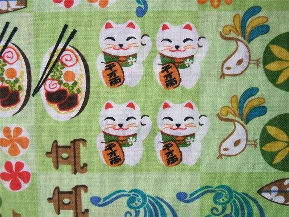 Japanese Cartoon Character Tomodachi Sushi by AliceInStitchesArts, $10.50