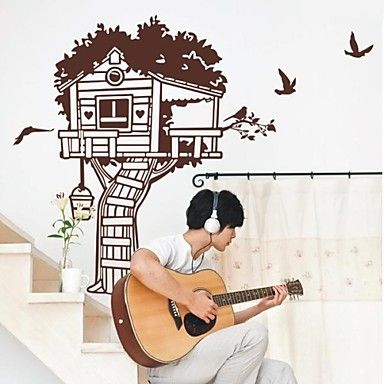 Botanical The Tree House Wall Stickers – AUD $ 47.21