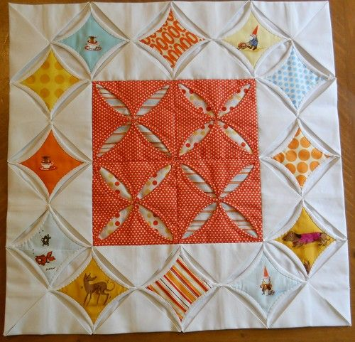 367 Best Quilts Cathedral Windows Images On Pinterest