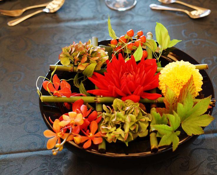 #tokugawaen#novarese#vressetrose#Wedding #japanese #table #Flower #guesttable#Bridal#徳川園# ブレスエットロゼ #ウエディング# 和風 #和装 # ゲストテーブル#トーション #テーブル # 花#テーブルコーディネート#ブライダル#結婚式#ナチュラル#ブレスエットロゼ名古屋#赤#ダリア