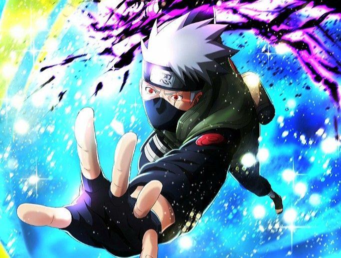 Kakashi Hatake Double Sharingan Ultimate V2 Naruto E Sasuke Desenho Susanoo Personagens De Anime