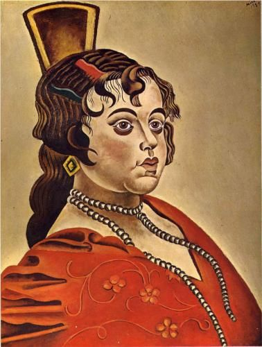 Portrait of a Spanish Dancer by Joan Miro http://www.wikipaintings.org/en/joan-miro/portrait-of-a-spanish-dancer