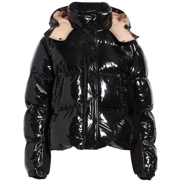 Moncler Black Gaura Padded Jacket for men