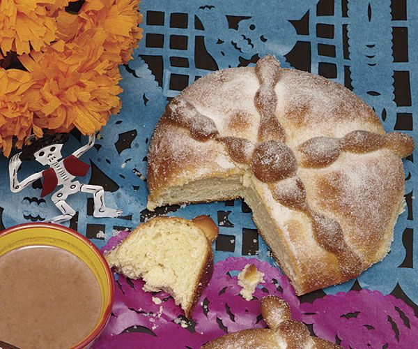 Pan de Muerto recipe: In the Mexican tradition, this sweet, buttery bread is a fixture at Day of the Dead celebrations.