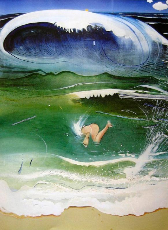 The dive, bondi brett whiteley