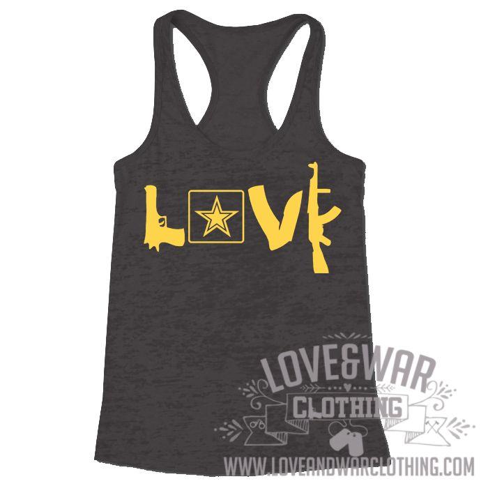 LOVEANDWARCLOTHING - Love guns Army Top, $24.95 (http://www.loveandwarclothing.com/love-guns-army-top/)